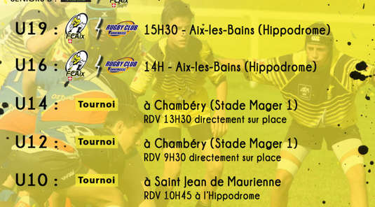 Programme Weekend du 28/29 Septembre